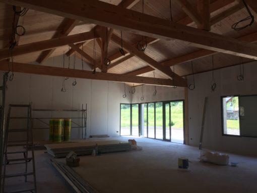 Salle des Fêtes + atelier municipal à Ignaux